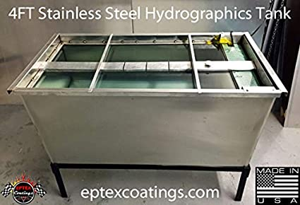Amazon com : Hydrographics 4ft Stainless Steel Tank Package