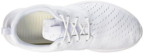 Nike Roshe Nm Lsr Hommes Blancs Formateurs 111 Blanc 833 126