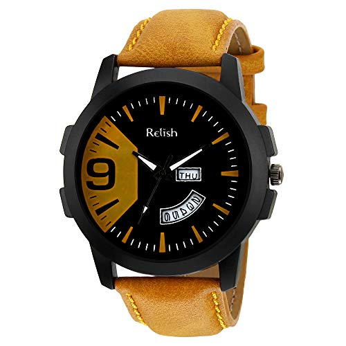 Relish Day and Date Watch for Men   RE BT936DD, Gift for Brother, Rakhi Gift for Brother