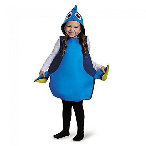 Dory Costume (Disguise Disney's Finding Dory Girls Dory Classic Costume One)