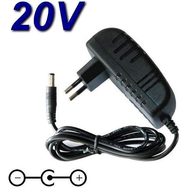 TopChargeur 05148 - Adaptador de Corriente y Cargador de 20 V para aspiradora Robot Conga Cecotec 3090 Laser: Amazon.es: Electrónica