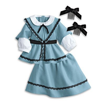 American Girl Addy's School Outfit for 18