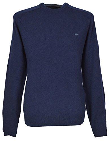 Fynch Hatton Herren Pullover blau navy