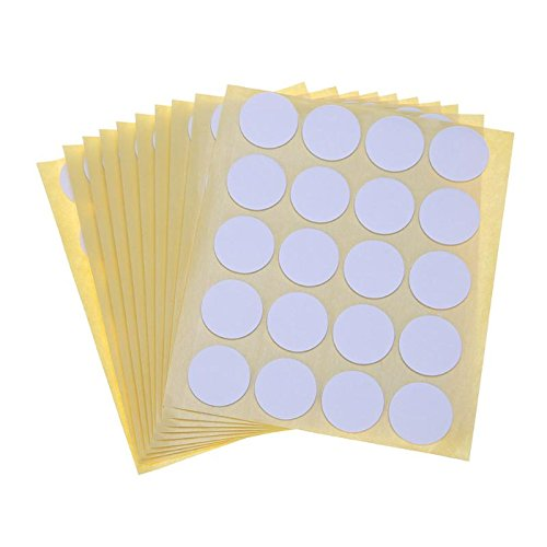 Candle Holders - 200pcs Wick Foam Stickers Double Sided Adhesive Glue Dots Home Decoration Holder Fixed - Tapers Clear Return Unity Ikea Jars Round Zen Old In