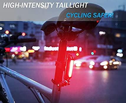 LED Waterproof Bike Bicycle Mountain Cycle MTB Front Rear Tail Lights Kit Bright