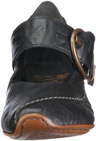 Rieker Mirjam 43762 00, Escarpins Femme Noir V.6, 39 EU