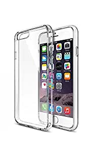 iPhone 6 Case,VUTTOO [FLEX-SOFT] Soft Case **NEW** [Perfect-Fit] Premium Soft Flexible Extremely Thin TPU Case Protective Shell Cell Phone Cover For Apple Iphone 6 (4.7 Inch) - Crystal Clear