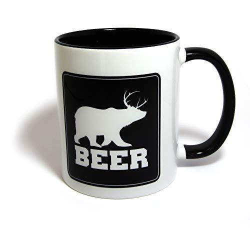 - Beer | Bear + Deer = Beer Coffee Mug | Funny Gift