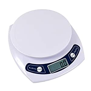 WiseField Digital Kitchen Food Scale 0.01oz/0.1g 3000g Gram Weight with Tare Function