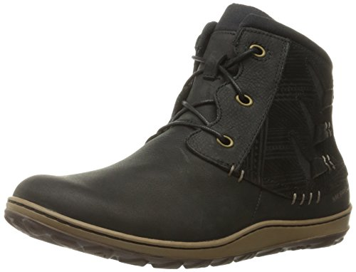 Black Ankle Black Boot Vee Womens Merrell Ashland wIxSqvt0