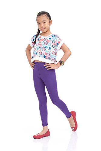 Lucky 21 Nom Girls Legging Long Leg Perfect Fit Variety Of Colors Medium Size Purple
