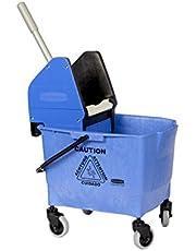 Rubbermaid Commercial 25L Combo Bravo Mop Bucket con escurridor–Azul