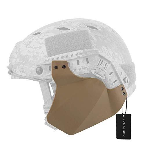 AIRSOFTPEAK Tactical Airsoft Military Paintball Up-Armor Side Cover Ear Protection, Dark Earth