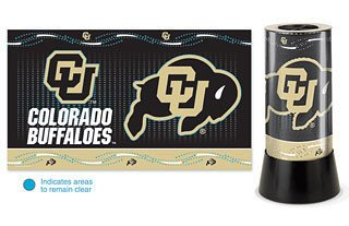Colorado Buffaloes Rotating Desk Lamp - NCAA (Colorado Buffaloes Lamp)