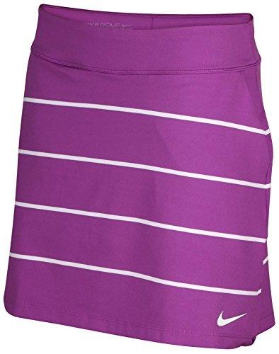 NIKE Golf Women's Tournament Knit Stripe Golf Skort Skirt 726114 556 (Small) (Nike Knit Skirt)