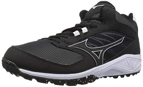 Mizuno Mens Dominant All Surface Mid Turf Baseball Shoe