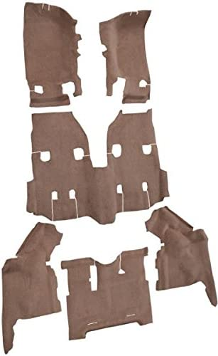 Complete Kit 8295-Medium Doeskin Plush Cut Pile ACC Replacement Carpet Kit for 1984 to 1991 Jeep Grand Wagoneer