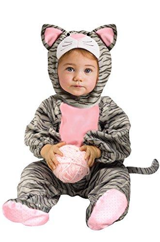 Baby Kitty Costumes - Little Stripe Kitten Infant Costume,12-24