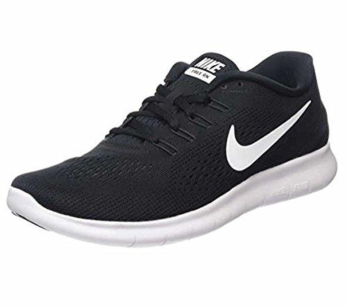 NIKE Men's Free RN, Black/White-Anthracite, 7 M US by Nike (Image #5)