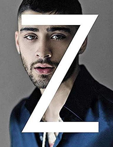 MOTIVATION4U زین مالک ، زین جواد زین مالک ، خواننده و ترانه سرا انگلیسی ، یک جهت ، پوستر 12 18 18 اینچی
