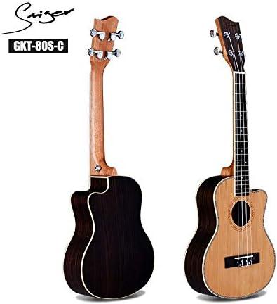 HVTKL Ukelele Ukelele pequeña de Cuatro Cuerdas de la Guitarra de ...