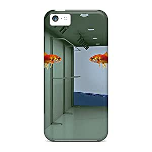 New Arrival Case Specially Design For Iphone 5c (3d Flying Fish)