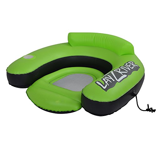 Blue Wave Sports LayZRiver Inflatable Swim Lounge River Float