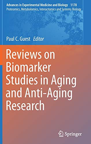 41i n9XO vL - Reviews on Biomarker Studies in Aging and Anti-Aging Research (Advances in Experimental Medicine and Biology)