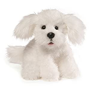 Amazon Com Gund Georgie Dog Stuffed Animal Plush White 10 Toys