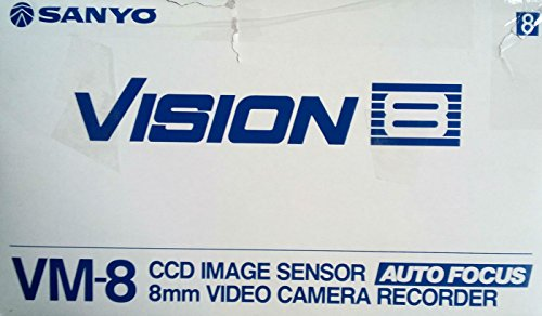 Sanyo Vision 8 Camcorder - 8MM CCD Video Camera
