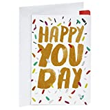 Hallmark Birthday Card, Happy You Day (Personalized Card Sent for You)