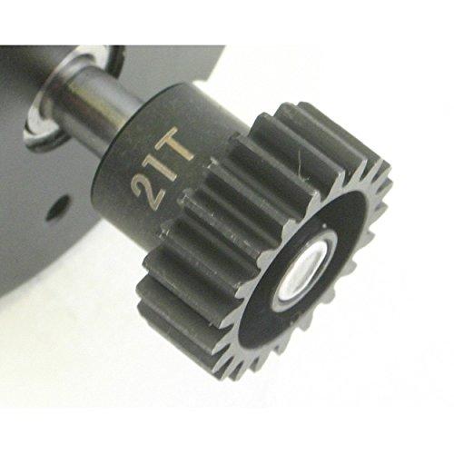 Hot Racing NSG3221 21t Steel 32p Pinion Gear 5mm Bore 2 Speed Pinion Gear