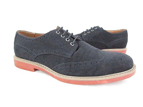 Alfani Hombres Bison Wing-tip Lace Up Oxfords Zapatos