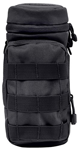 Rothco MOLLE Compatible Water Bottle Pouch, Black