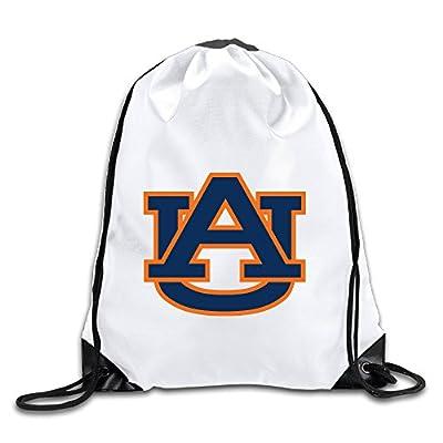 Hunson - Geek Auburn AU Logo University Sport Bag Drawstring Sling Backpack For Men & Women Sackpack
