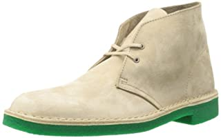 CLARKS Men's Desert Chukka Boot, Tan/Green, 12 M US (B008JGBZV0) | Amazon price tracker / tracking, Amazon price history charts, Amazon price watches, Amazon price drop alerts