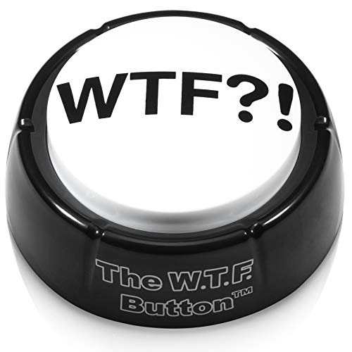 NSFW buttons Original WTF Button - Wonderful WTF Adult Audio Insanity, Right on Your -