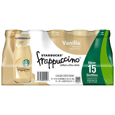 o Coffee Drink 9.5 oz Glass Bottles (15-Pack) (Vanilla) ()
