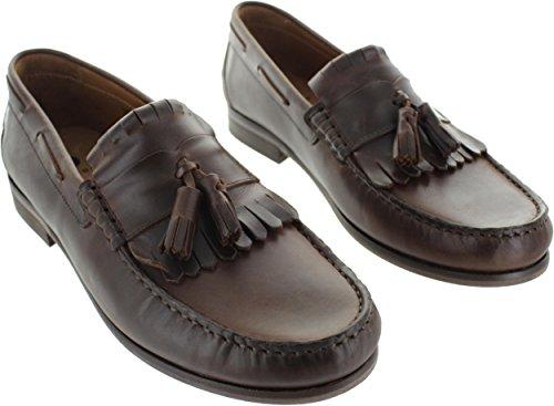Marrón Pantalla cognac Con Hombre Cordones Por V702260 Zapatos De Vestir Ejemplo qBPzw7
