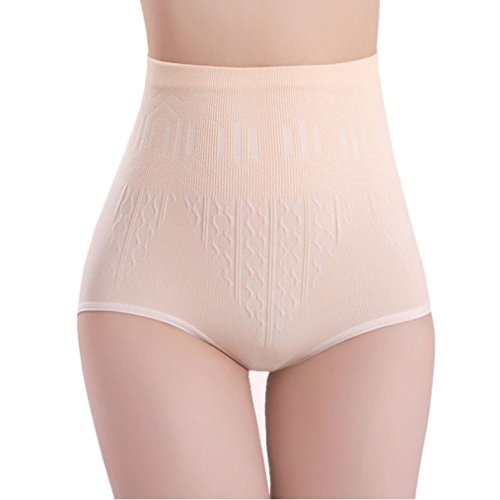 Flare Panties - YANG-YI Clearance, Womens Lingerie Womens High Waist Tummy Control Body Shaper Briefs Slimming Pants (Skin, ONE Szie)