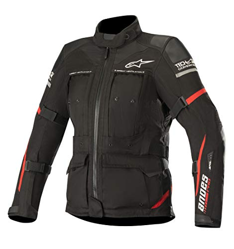 Stella Women's Andes Pro Drystar Waterproof Touring Motorcycle Jacket for Tech-Air Street Airbag System (Large, Black -