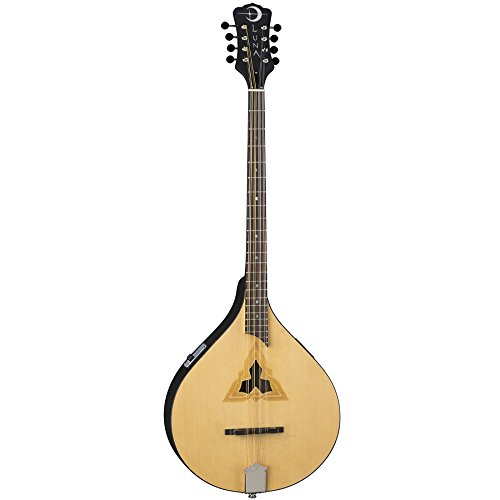 Luna BGBZ EL TRI V2 Bouzouki, Natural by Luna Guitars