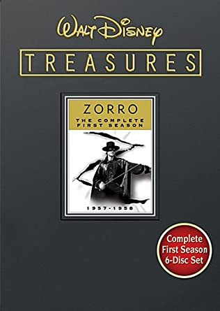 Amazon Walt Disney Treasures Zorro Season 1 Guy
