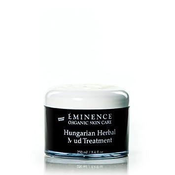 Eminence Hungarian Herbal Mud Treatment , 2 oz / 60 ml Melao Natural Hyaluronic Acid Serum Anti-Aging Anti-Wrinkle Facial Serum with Vitamin C & Vitamin E & Retinol (30 ML)
