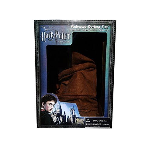 Wizarding World Harry Potter Talking Animated Hogwarts House Sorting Hat Exclusive by - Sorting Hogwarts House Hat