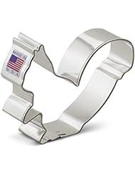 Ann Clark Squirrel Cookie Cutter - 3.5 Inches - Tin Plated Steel