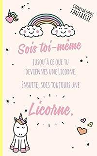 Citation Pour Se Motiver Licorne Mignonne Carnet à Dessin