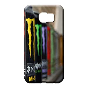 samsung galaxy s6 Highquality Plastic trendy cell phone carrying skins all monster drinks