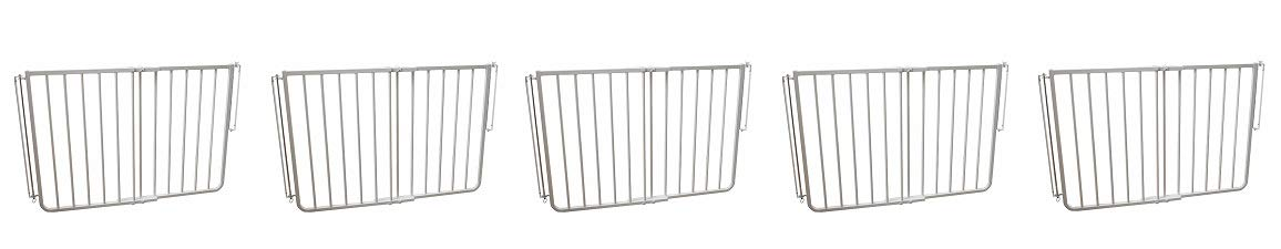 Cardinal Gates Outdoor Gate - White (5-(Pack))