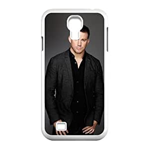 Channing Tatum_001 TPU Cover Unique Phone Case White For samsung s4 9500